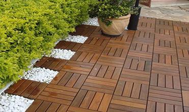 Plastic Blister Wood Flooring Tile